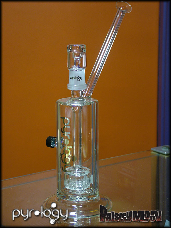 Pyrology Angled Rig with Inline Showerhead Diffuser